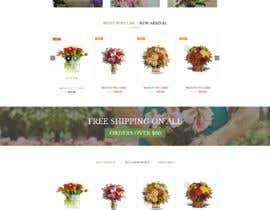 #7 for Flower Shop Website Homepage Layout   Design ONLY! Like 1800Flowers by sirajkhan1992