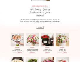 #2 for Flower Shop Website Homepage Layout   Design ONLY! Like 1800Flowers by Saheb9804