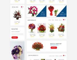 #21 for Flower Shop Website Homepage Layout   Design ONLY! Like 1800Flowers by Dofort