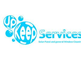 gyhrt78 tarafından I need a logo designed. The business is Solar panel Cleaning and general window cleaning. I was thinking something blue/bubbles/giving the effect of water. The company name is Up Keep Services. için no 3