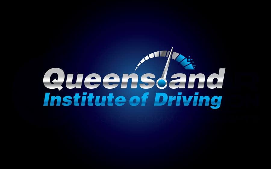 Inscrição nº                                         103                                      do Concurso para                                         Logo Design for Queensland Institute of Driving