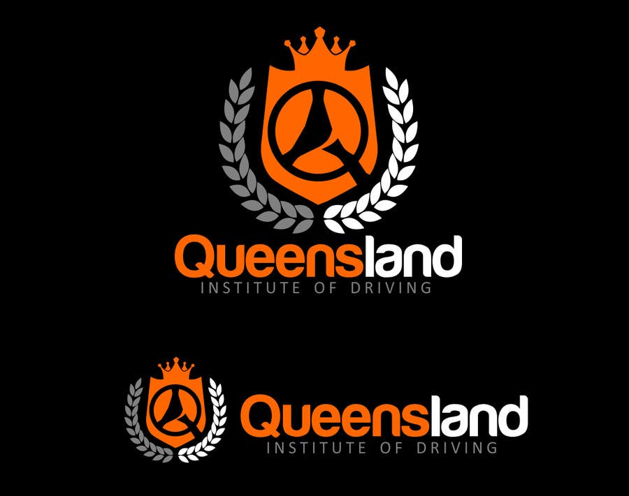 Inscrição nº                                         150                                      do Concurso para                                         Logo Design for Queensland Institute of Driving
