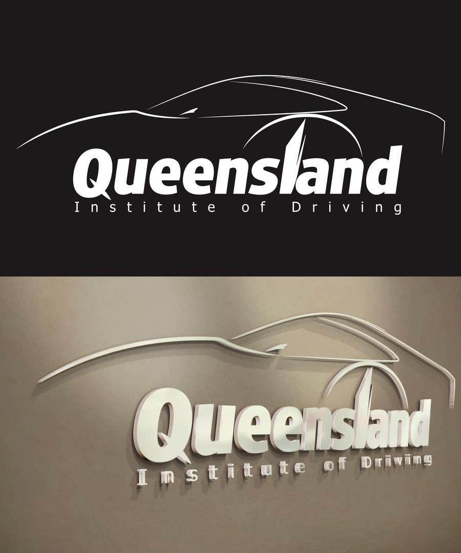 Inscrição nº                                         144                                      do Concurso para                                         Logo Design for Queensland Institute of Driving