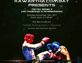 #6 for Muay Thai Kickboxing Event Poster by omerfarooq9991