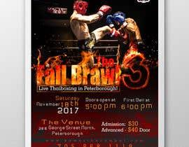 #8 for Muay Thai Kickboxing Event Poster by sudheeprabhakar