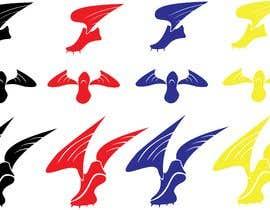 #5 for Create an original running shoe with a wing for a running shirt by shinanomiyazawa