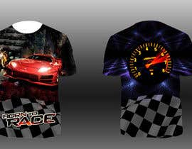 #17 para Design Allover printed T-Shirts with petrolheads or voodoo theme por bharath0428