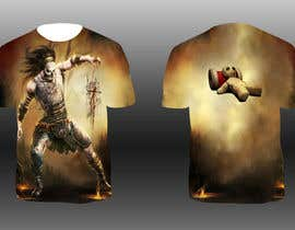 #18 para Design Allover printed T-Shirts with petrolheads or voodoo theme por bharath0428