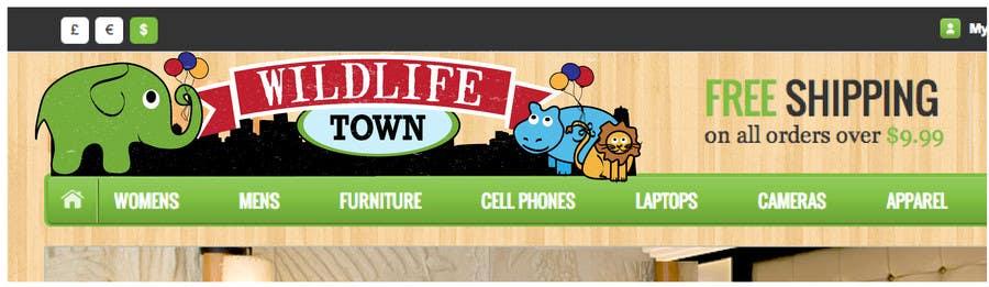Конкурсная заявка №82 для Logo Design for Wildlife Town