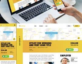 #44 for Design a proper BUY button on the page by shibaspring