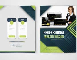 #7 for Design a Flyer for a website designer company by faheem1khan2003