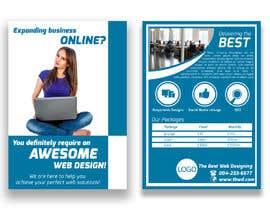 #3 for Design a Flyer for a website designer company af aashishktd