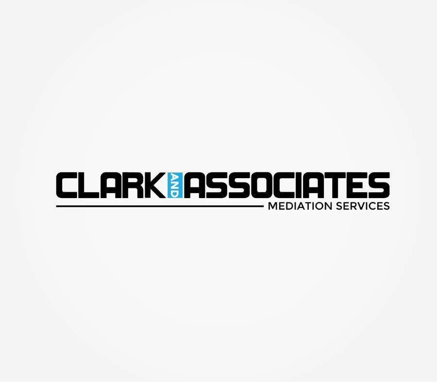 "Penyertaan Peraduan #2 untuk Logo for ""Clark & Associates Mediation Services"" which offers mediation services away from court for people involved in disputes. Key concepts: confidential, discussion, understanding, option generation, agreement, mutually beneficial outcome."