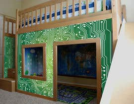 "LiDieu tarafından I need some Graphic Design for exterior ""skin"" graphic for kids playhouse için no 45"