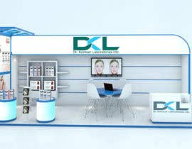 #23 for DESIGN MEDICAL AESTHTICS BOOTH FOR EXHIBITION by M13DESIGN