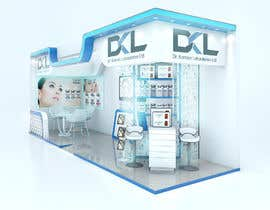 #24 for DESIGN MEDICAL AESTHTICS BOOTH FOR EXHIBITION by M13DESIGN