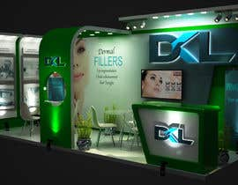 #4 for DESIGN MEDICAL AESTHTICS BOOTH FOR EXHIBITION by vw7973625vw