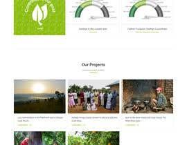 Nro 7 kilpailuun Redesign our home page käyttäjältä zaxsol