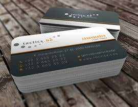#93 for Design Business Cards for Tactics bvba af youart2012