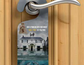 #33 for Design a photo similar to the one and make a door hanger using the template attached af GlobalTarik