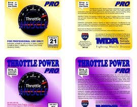 #1 for Print & Packaging Design for Throttle Muscle by gedaty