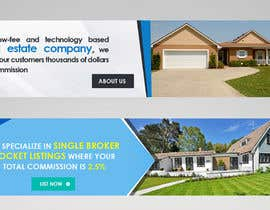 #4 for Graphic design of 4 Slider Graphics on a Real Estate  WP Website by debeljic