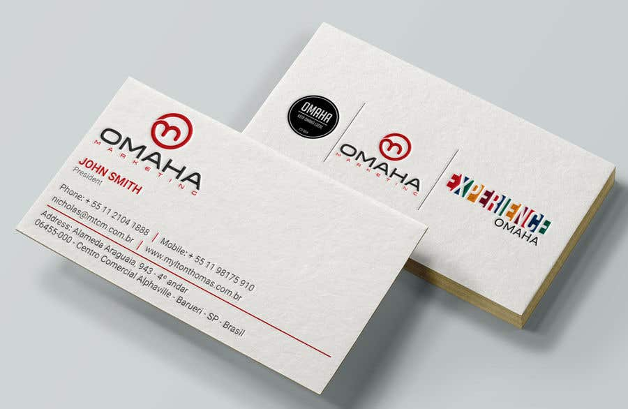 Entry 1 by noorpiash for design a business card that has multiple business card colourmoves