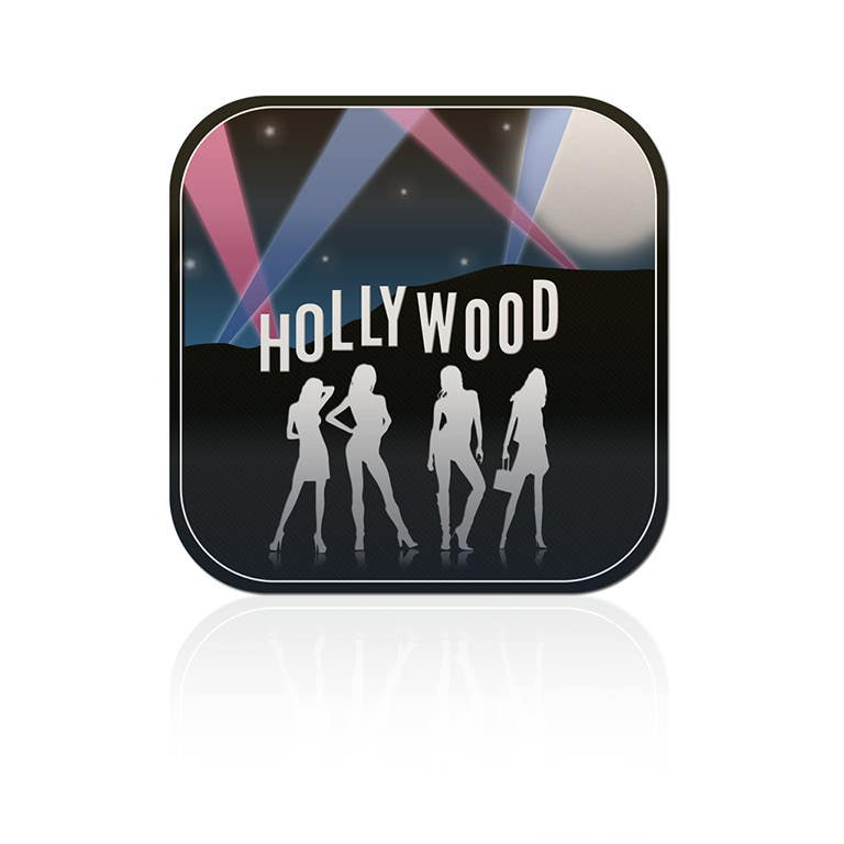#1 for Icon Design for a celebrity trivia game on i-phone by Shrenik18