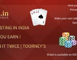 #1 for Design banner for poker hosting in india by PriteshRK