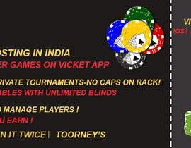 #21 for Design banner for poker hosting in india by rouf700306