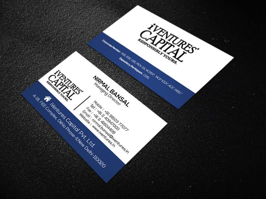 Entry #128 by mithu08 for Classical + Modern Business Card for ...