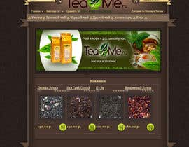 #88 cho Banner Ad Design for Tea4me.ru tea&coffee sales&delivery bởi xcerlow