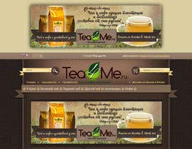 #81 cho Banner Ad Design for Tea4me.ru tea&coffee sales&delivery bởi violeta1354