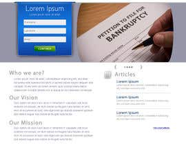 Ibrahimzee tarafından Website Design for LookforLawyer.com için no 161