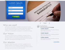 Ibrahimzee tarafından Website Design for LookforLawyer.com için no 171