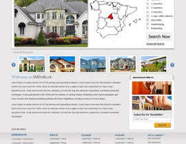 #7 pentru Website design for a Real Estate Portal - 1page winner will be awarded 5 more pages de către looglewebagency