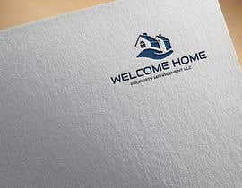 #162 for Design a Logo for Welcome Home Property Management LLC by mahreenanvi