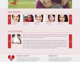 negibheji tarafından dating portal landing page (2 different page) için no 8