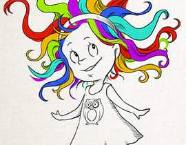 #102 for Draw Dr.Suess/Sketch type of drawing of real person with neon rainbow hair by EveFlin