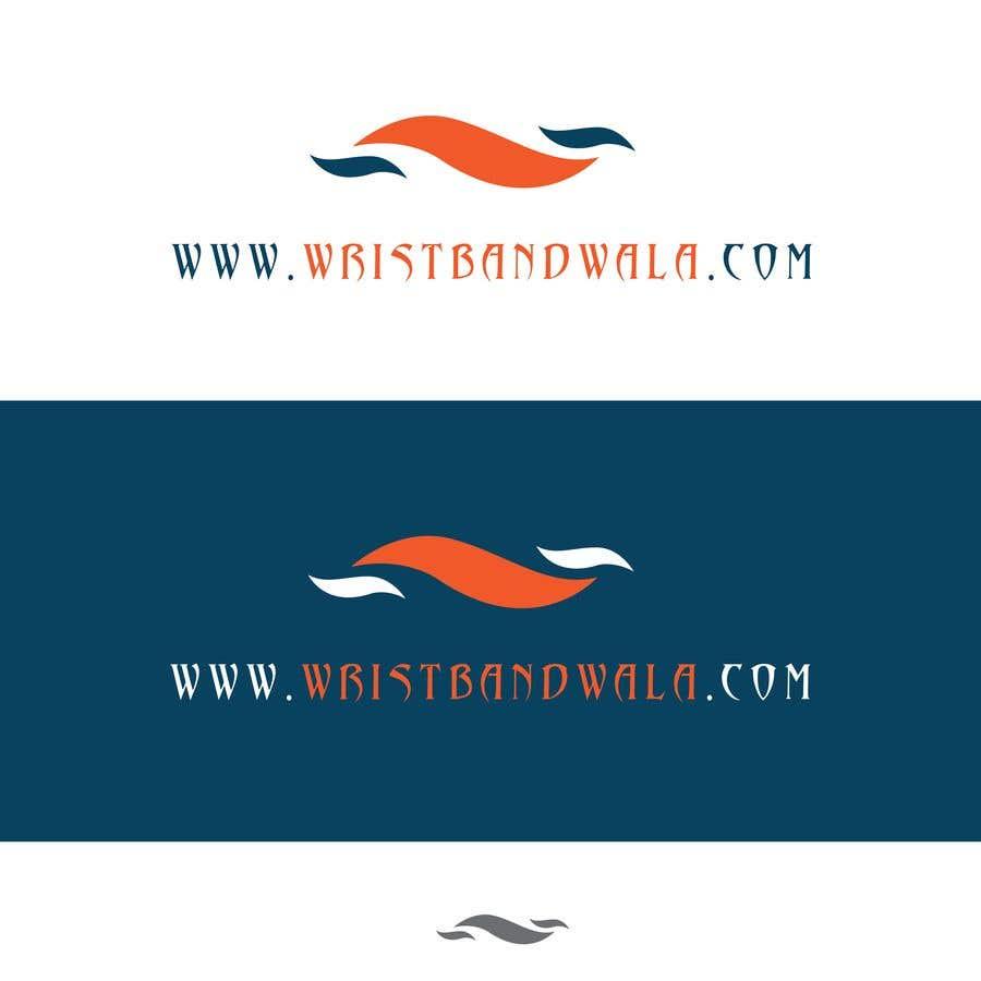 Penyertaan Peraduan #24 untuk Design A Logo for a Silicone Wrist Band Company.... Wristbandwala.com