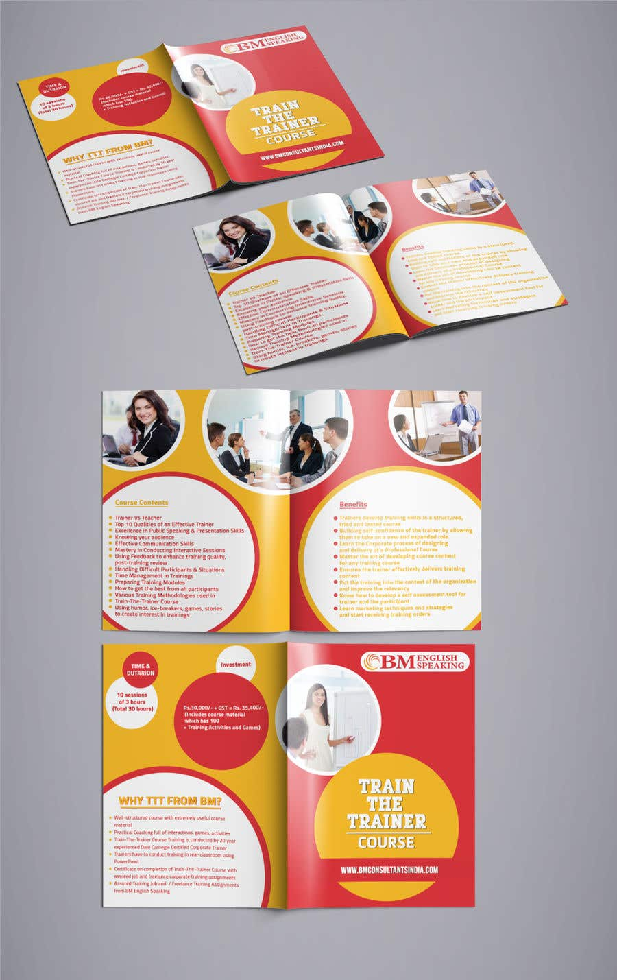 Entry #20 by ahmedelanuoz for Design a Brochure for TTT