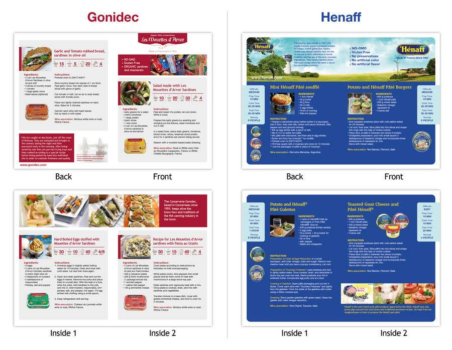 Entry #35 by Lelaku for Design a Brochure - food recipe ideas