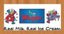 Graphic Design Entri Peraduan #50 for Deep Freezer Sticker Design for Wonder Ice Cream