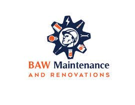 #5 My partner is starting a business named BW Maintenance and Renovations or BAW Maintenance and Renovations (depending what looks better) he will be doing bathroom/kitchen renovations and handy man work részére Beautylady által
