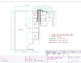 #5 for Engineering design for bathroom/kitchen remodel by lahiruCAD