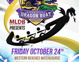 #13 for Flyer Design for Major League Dragon Boat events by creationz2011