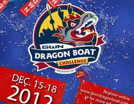 #24 for Flyer Design for Major League Dragon Boat events by midget