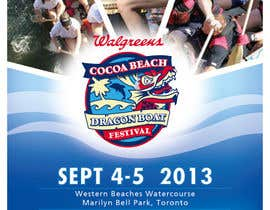 #23 for Flyer Design for Major League Dragon Boat events by wedesignvw