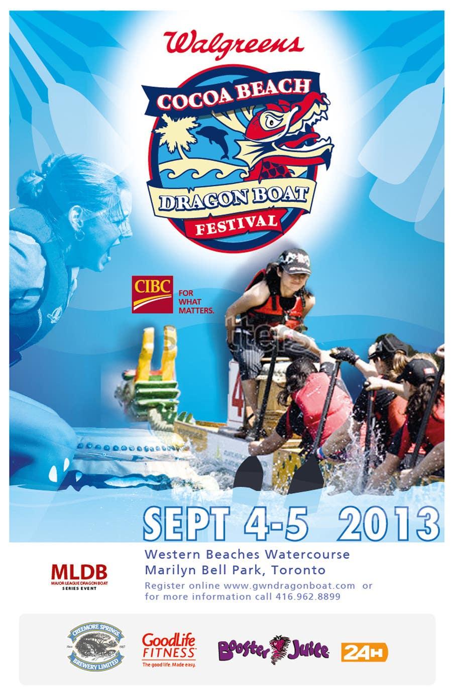 Конкурсная заявка №10 для Flyer Design for Major League Dragon Boat events