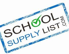 #77 cho Logo Design for School-Supply-List.com bởi murraysmart